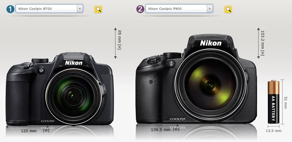 B700とP900の違い