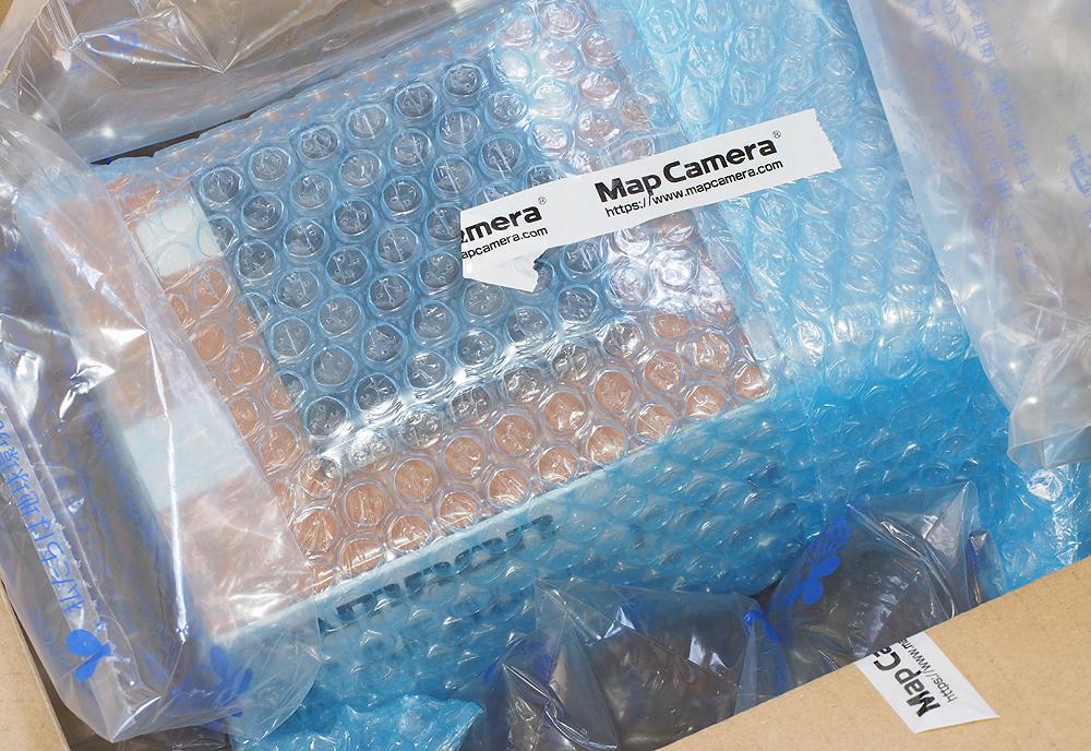 マップカメラでレンズを買う 梱包 画像