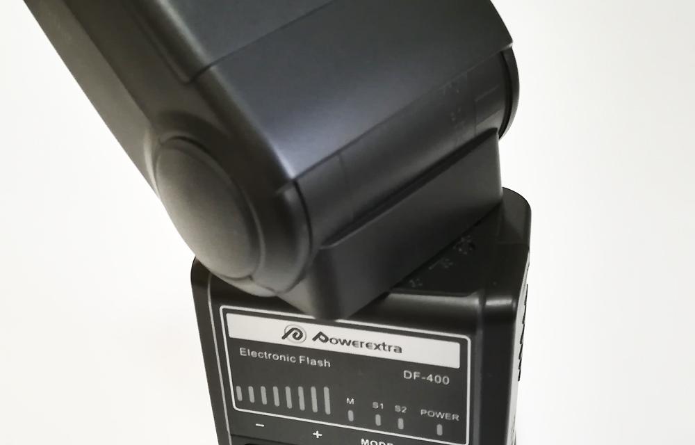 Powerextra DF-400 ヘッドの回転角
